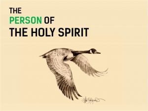 The Person of the Holy Spirit  An Audio Sermon – davidtensen com